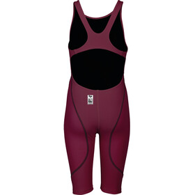 arena Powerskin St 2.0 Short Leg Open Traje de cuerpo entero Niñas, deep red